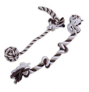 cordes à nœuds pour chien en coffret cadeau